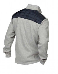 Pánska športová bunda Tom Tailor, modro-sivá #1