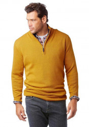 Pánsky žltý pulóver Man´s World