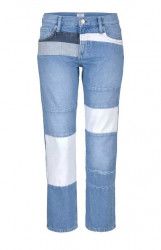Patchwork džínsy Pepe Jeans, svetlomodré 32 inch