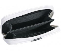 Peňaženka s ľudovým motívom, čierno-biela #2
