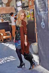 Pletený dlhý sveter Aniston #4