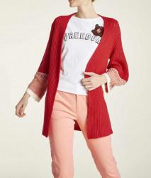 Pletený sveter Heine, červený