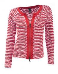 Pletený sveter na zips HEINE - B.C.
