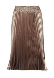 Plisovaná sukňa, metalická #1