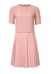 Plisované šaty Rick Cardona, ružová