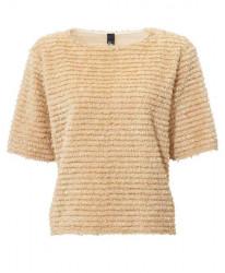 Plyšový sveter, béžový #1