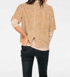 Plyšový sveter, béžový #3
