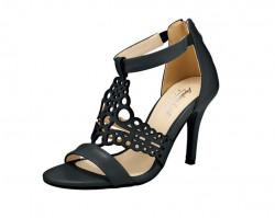 Pohodlné kožené sandále v Cut Out dizajne