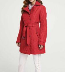 Prešívaná bunda Heine, červená