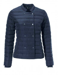 Prešívaná bunda, modrá