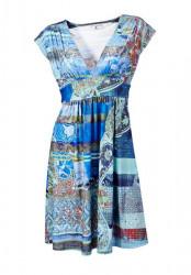 Príťažlivé farebné šaty Rick Cardona