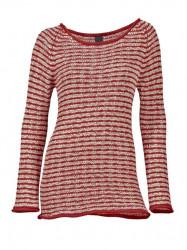 Pruhovaný červený pulóver HEINE - B.C.
