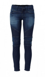 Replay prešívané džínsy, tmavomodré
