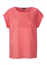 Romantické koralové tričko TOMMY HILFIGER