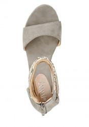 Sandále na platforme xyxyx, sivá #3