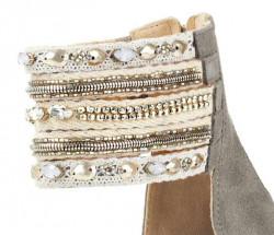 Sandále na platforme xyxyx, sivá #7