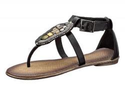 Sandále s kamienkami Andrea Conti