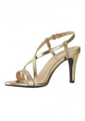 Sandále s ramienkami Heine, zlatá farba