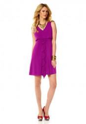 Šaty Jessica Simpson, cyklamenová