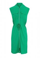 Šaty na zips Heine - Best Connections, zelená