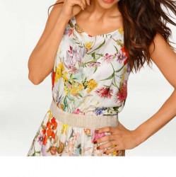 Šaty plné kvetov Rick Cardona