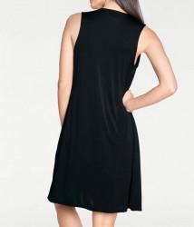 Šaty s eleganciou Rick Cardona, čierna #2