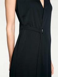 Šaty s eleganciou Rick Cardona, čierna #3