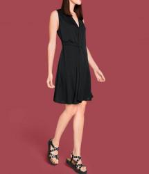 Šaty s eleganciou Rick Cardona, čierna #5