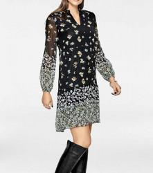Šaty s kvetinovou potlačou Rick Cardona, viacfarebná #2