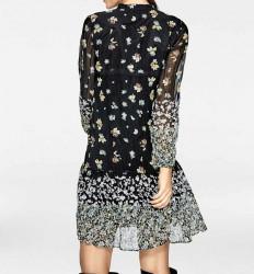 Šaty s kvetinovou potlačou Rick Cardona, viacfarebná #3