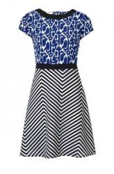 Šaty s mixom vzorov Rick Cardona
