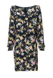Šaty s potlačou Heine - Best Connections, čierno-viacfarebná
