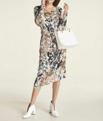 Šaty s potlačou Heine, viacfarebnáé