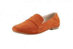 Semišové topánky Andrea Conti, oranžové