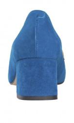Semišové topánky HEINE, modro-ružová #5
