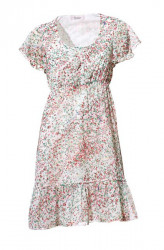 Šifónové šaty s volánmi Linea Tesini