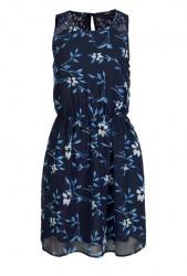 Šifónové šaty VERO MODA, modrá