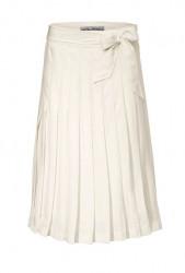 Skladaná sukňa Ashley Brooke, krémová