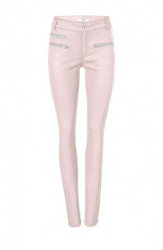 Slim-Fit džínsy Rick Cardona, ružová
