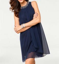 Spoločenské šaty Ashley Brooke, kráľovká modrá
