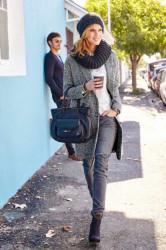Štýlový kabát Aniston