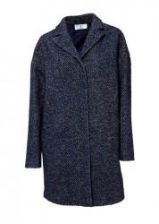 6953c1e035bb Dámsky flaušový kabát VZOR 2 . - čierny - Dámske flaušové kabáty ...