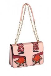 Sweet Deluxe patchwork kabelka, ružová