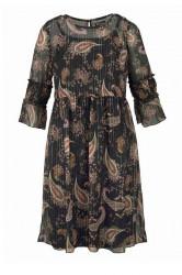 Tamaris šaty s farebnou paisley potlačou