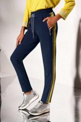 Teplákové nohavice Création L, modrá