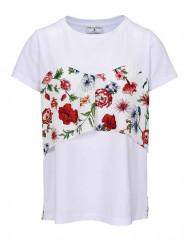 Tričko plné kvetov Rick Cardona