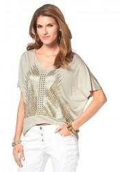 Tričko so vzorom Aniston