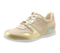 UGG sneakersy béžovo -zlaté