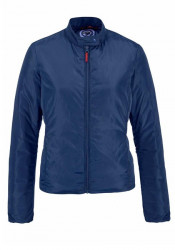 Vatovaná krátka bunda, modrá