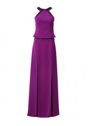 Večerné šaty dvojdielne Ashley Brooke, fialová